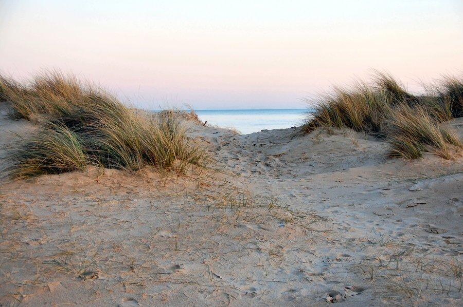 Пясъчните дюни - Несебър