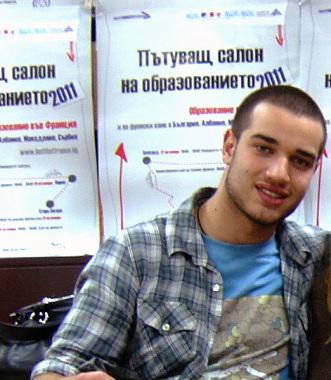 """Мирослав Марчев , XII клас, IV ЕГ """"Фредерик Жолио-Кюри""""."""