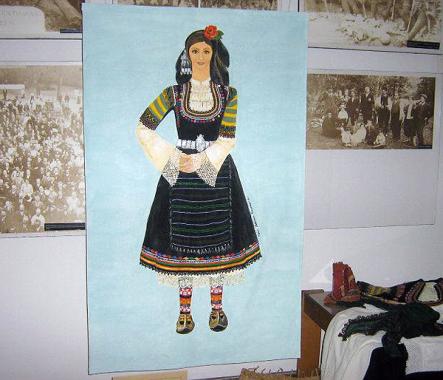 Носия от колекцията на Историческия музей в Ихтиман