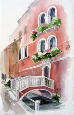 Пейзаж от Венеция на Севда Драгнева