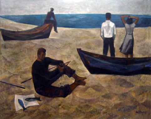 """Иван Кирков - """"Край морето"""", 1961 г."""
