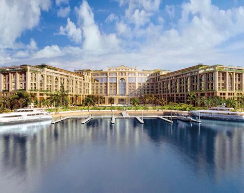 Palazzo Versace Dubai – хотел в строеж.