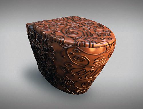 Тоалетна от шоколад