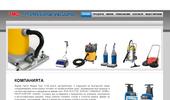 Професионални машини за метене на складове,алеи и производствени помещения с ма