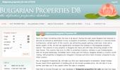 Уеб Сайт www.bulgarianpropertiesdb.com