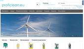 Професионално почистващи препарати, уреди и машини от Proficlean.eu