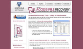 Access file recovery,