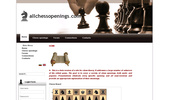 Сайт за шахматна дебютна теория.