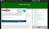 Snooker News Blog