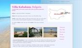 Вила Кабакум, приятна вила на известния плаж Кабакум, близо до Златни Пясъци
