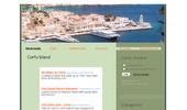 Corfu island in Greece (or Kerkyra)